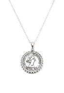 www.snowfall-fashion.co.uk - Necklace with coin 45-50cm - J07333