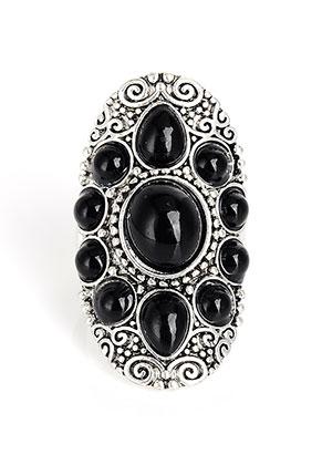 www.snowfall-beads.com - Bohemian ring Ø 19mm