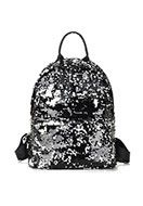 www.snowfall-fashion.com - Backpack with reversible sequins 33x18x11cm - j07798