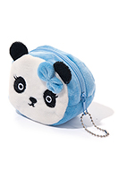 www.snowfall-fashion.co.uk - Wallet panda bear 8x7x5cm - J07917