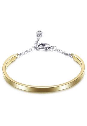 www.snowfall-beads.be - Roestvrijstalen armband 18cm