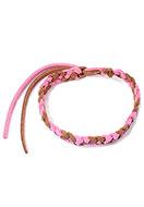 www.snowfall-beads.de - Kunstleder Anti-Mücken-Armband 18-28cm - J08380