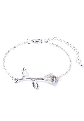 www.snowfall-fashion.com - Bracelet with rose 19-25cm