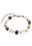 www.snowfall-beads.fr - Bracelet avec perles en verre 19-24cm - J08903