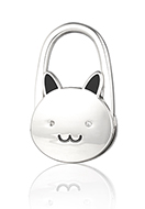 www.snowfall-fashion.fr - Accroche-sac à main lapin 68x50mm - J09276