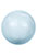 www.snowfall-beads.com - SWAROVSKI ELEMENTS bead 5811 Crystal Pearl large hole round 12mm