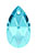 www.snowfall-beads.fr - SWAROVSKI ELEMENTS pendentif/breloque 6106 Pear-shaped Pendant goutte 16x9,5mm, 5,5mm d'épaisseur
