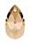 www.snowfall-beads.fr - SWAROVSKI ELEMENTS pendentif/breloque 6106 Pear-shaped Pendant goutte 16x9,5mm, 5,5mm d'épaisseur