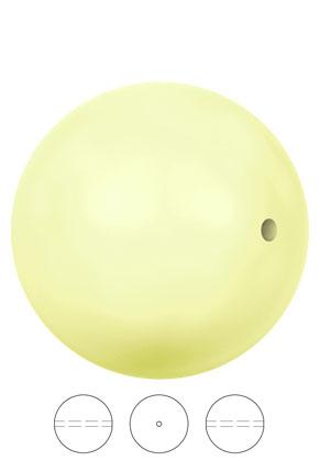 www.snowfall-beads.co.uk - SWAROVSKI ELEMENTS bead 5810 Crystal Pearl round 6mm