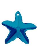 www.snowfall-beads.com - SWAROVSKI ELEMENTS pendant/charm 6721 Starfish Pendant 16mm - SW2626