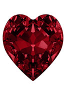 www.snowfall-beads.com - SWAROVSKI ELEMENTS pointed back 4831 Antique Heart heart bicone 8,8x8mm - SW2825