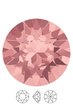 www.snowfall-beads.fr - SWAROVSKI ELEMENTS imitations de diamant 1088 XIRIUS Chaton circulaire SS39 8,3mm