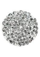 www.snowfall-beads.fr - SWAROVSKI ELEMENTS disque 72013 Crystal Rock circulaire 24mm - SW2917