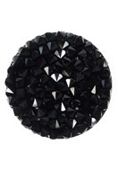 www.snowfall-beads.nl - SWAROVSKI ELEMENTS schijf 72013 Crystal Rock Hotfix rond 24mm - SW2922