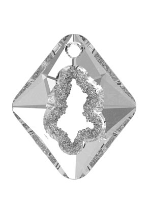 www.snowfall-beads.com - SWAROVSKI ELEMENTS pendant 6926 Growing Crystal Rhombus 36x31x10,5mm