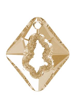 www.snowfall-beads.com - SWAROVSKI ELEMENTS pendant 6926 Growing Crystal Rhombus 36x31x10,5mm