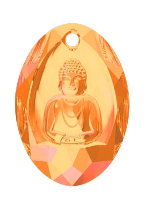 www.snowfall-beads.fr - SWAROVSKI ELEMENTS pendentif 6871 Buddha Pendant 28x19,8mm