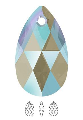www.snowfall-beads.com - SWAROVSKI ELEMENTS charm/pendant 6106 Pear-Shaped Pendant drop 16x9,5mm