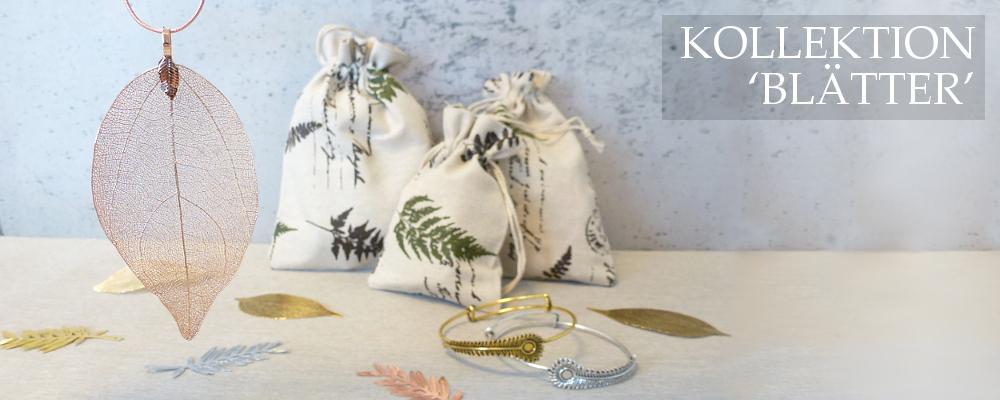 www.snowfall-beads.de - Kollektion 'Blätter'