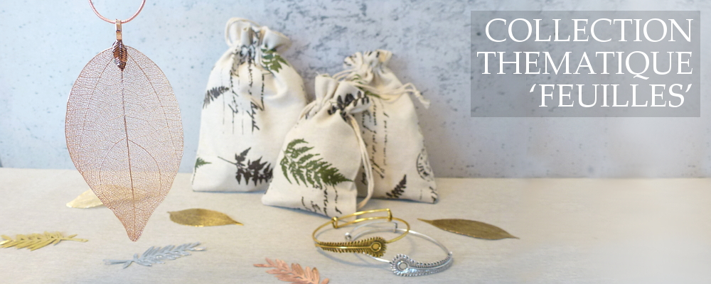 www.snowfall-beads.fr - Collection Thematique 'Feuilles'