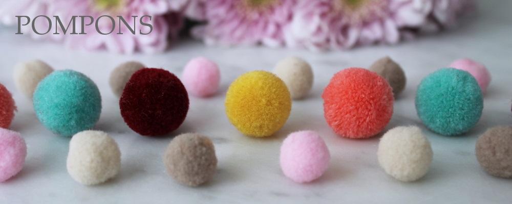 www.snowfall-beads.de - Pompons
