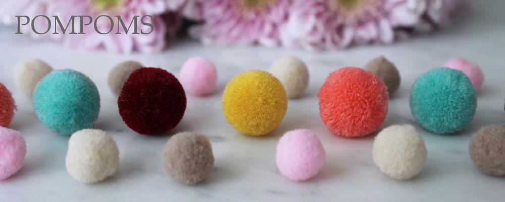 www.snowfall-beads.com - Pompoms