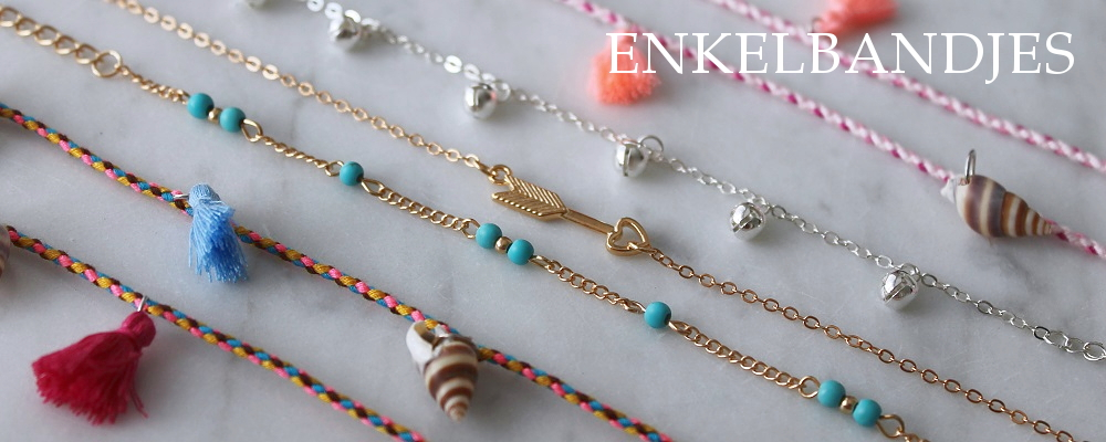 www.snowfall-beads.nl - Enkelbandjes