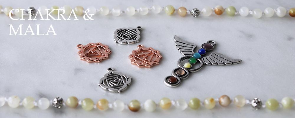 www.snowfall-beads.be - Chakra & Mala