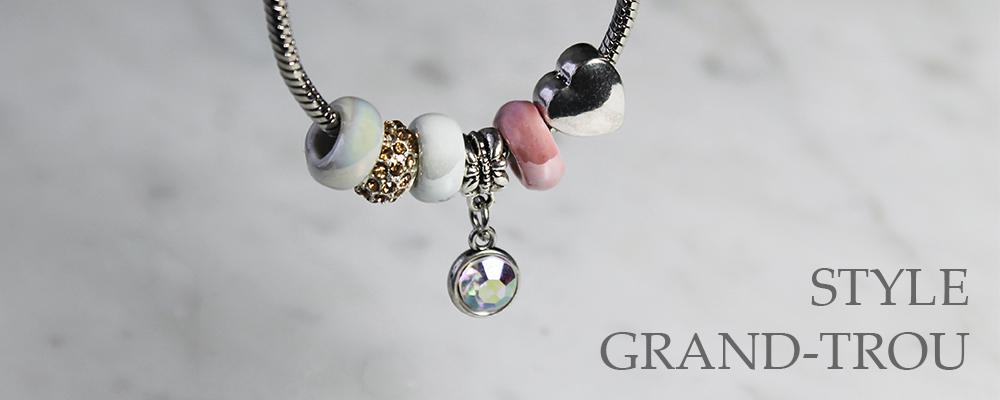 www.snowfall-beads.fr - Style grand-trou perles et pendentifs