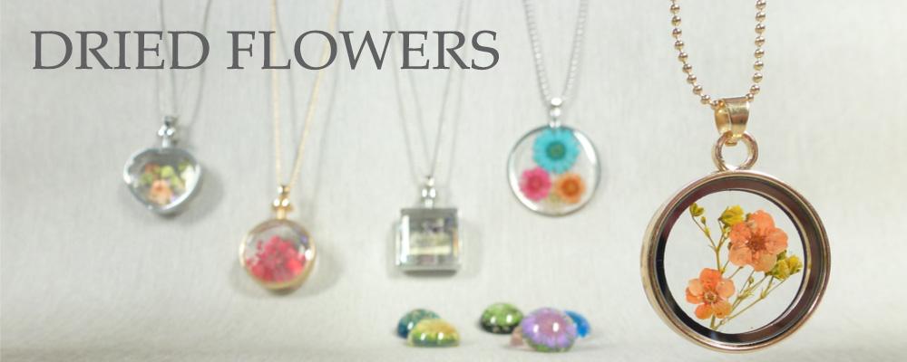 www.snowfall-beads.com - Dried flowers
