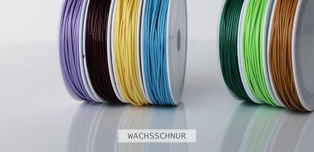 www.snowfall-beads.de - Wachsschnur