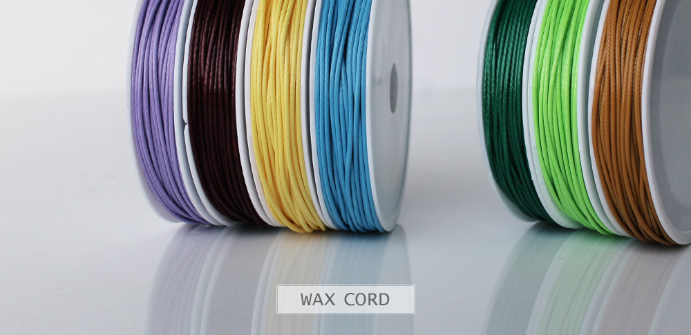 www.snowfall-beads.co.uk - Wax cord