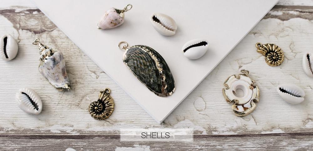 www.snowfall-beads.com - Shells
