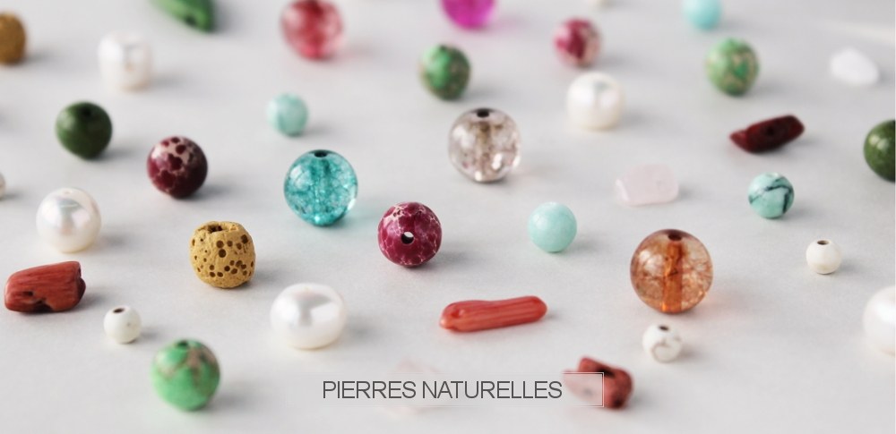 www.snowfall-beads.fr - Pierres naturelles