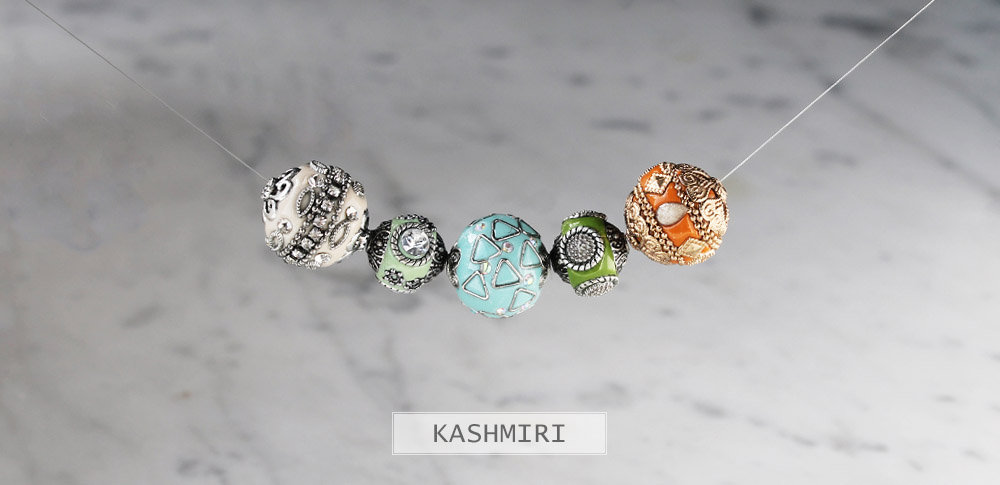 www.snowfall-beads.be - Kashmiri collectie