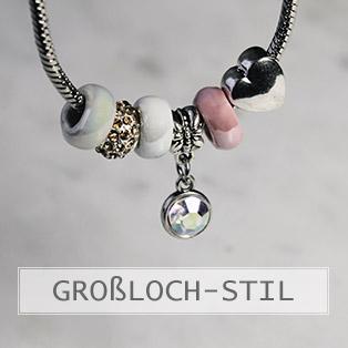 www.snowfall-beads.de - Grossloch Stile Perlen