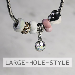 www.snowfall-beads.com - Large hole style beads