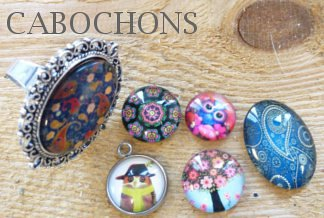 www.snowfall-beads.com - Cabochons