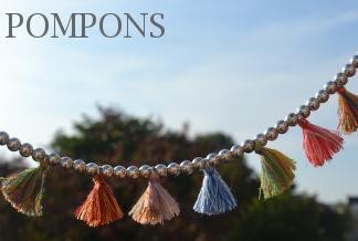 www.snowfall-perles.be - Pompons