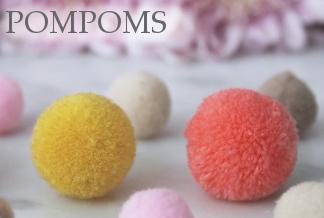 www.snowfall-beads.co.uk - Pompoms