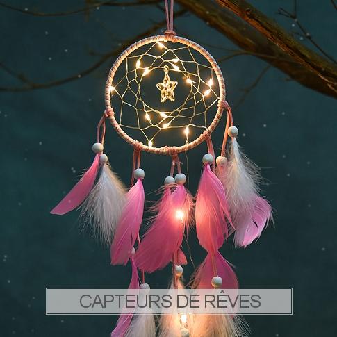 www.snowfall-beads.fr - Capteurs de rêves