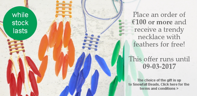 www.snowfall-beads.com - Gift campaign