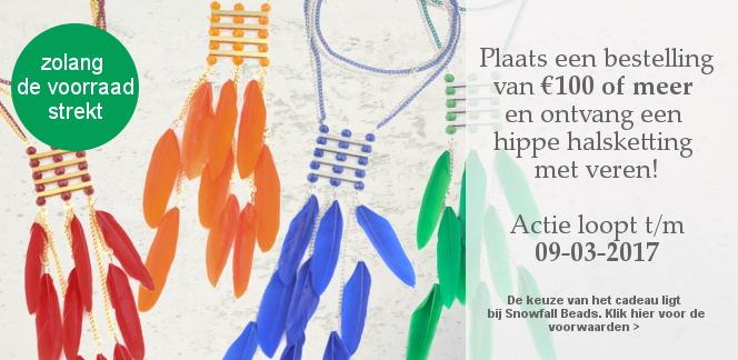 www.snowfall-beads.nl - Cadeau actie