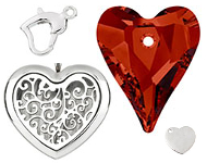 www.snowfall-beads.com - Valentine's day collection