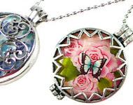 www.snowfall-beads.com - Inspiration: Romantic EasySwitch Pendants
