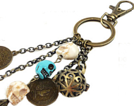 www.snowfall-beads.fr - Inspiration: Perfume Beads Keychain