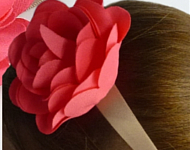 www.snowfall-beads.nl - Inspiratie: Flower Hairband