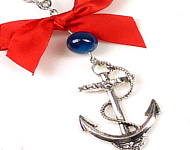 www.snowfall-beads.be - Inspiratie: Nautic Earrings and Necklace