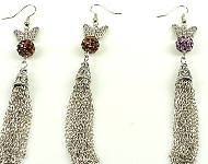 www.snowfall-beads.be - Inspiratie: Butterfly Earrings