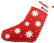 www.snowfall-beads.be - Inspiratie: Christmas Sock